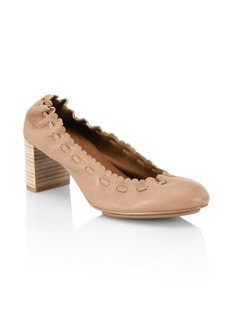 See by Chloé Jane Leather Pumps
