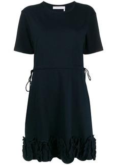 See by Chloé jersey ruffle trim dress
