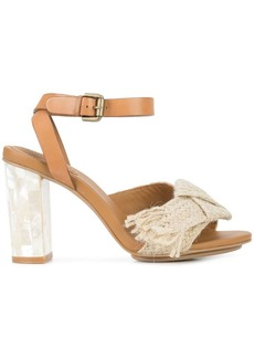 See by Chloé jute ribbon sandals