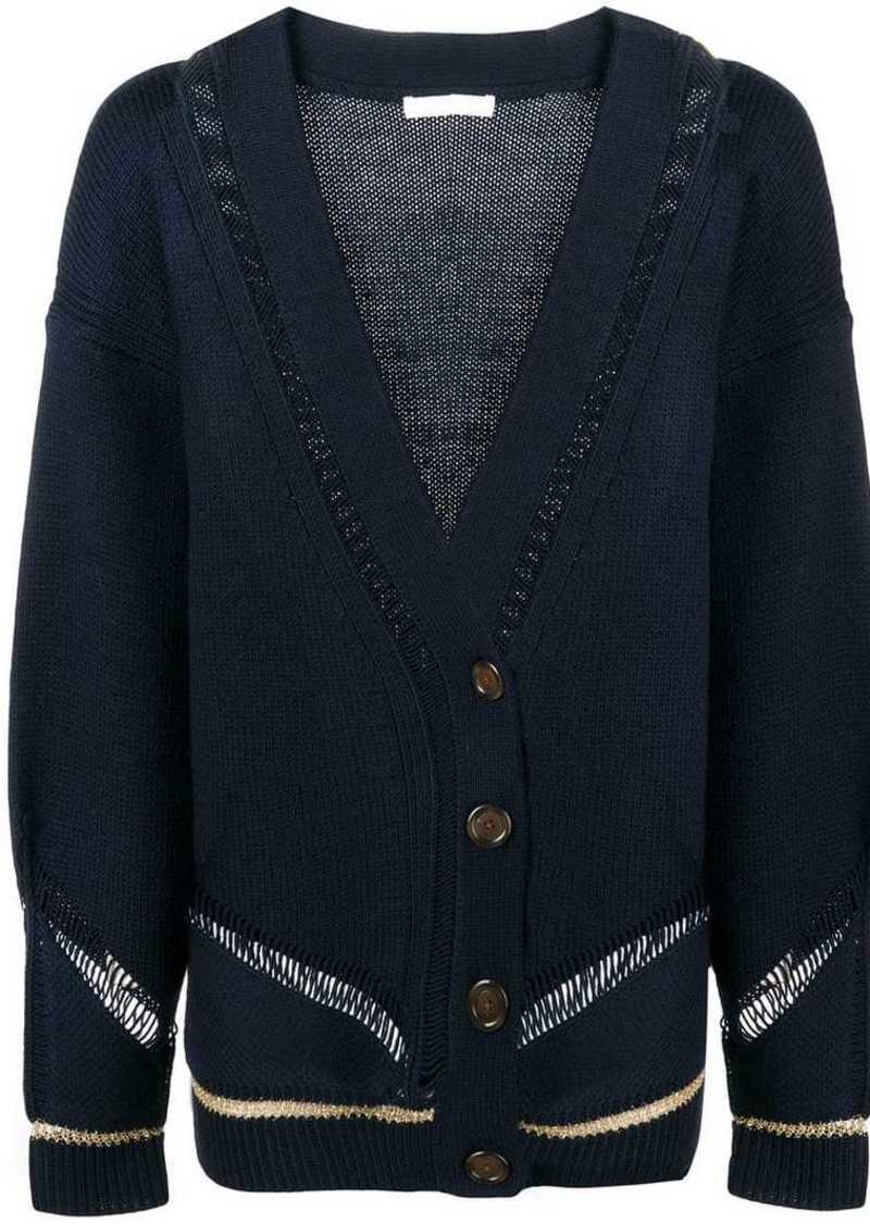 e6d2ed24 knit V-neck cardigan