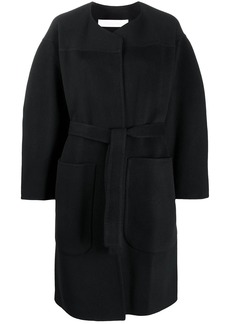 See by Chloé knitted belted waist coat