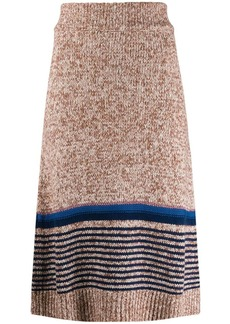 See by Chloé knitted midi skirt