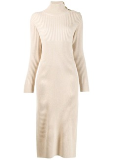 See by Chloé knitted roll-neck dress