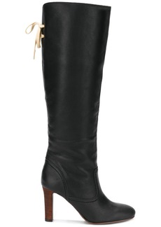 See by Chloé lace back knee-length boots