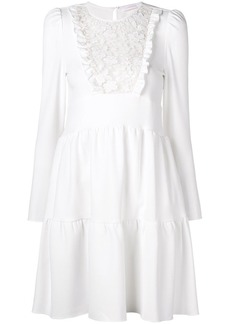 See by Chloé lace bib mini dress