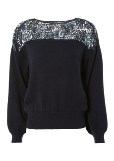 See by Chloé Lace Detail Top