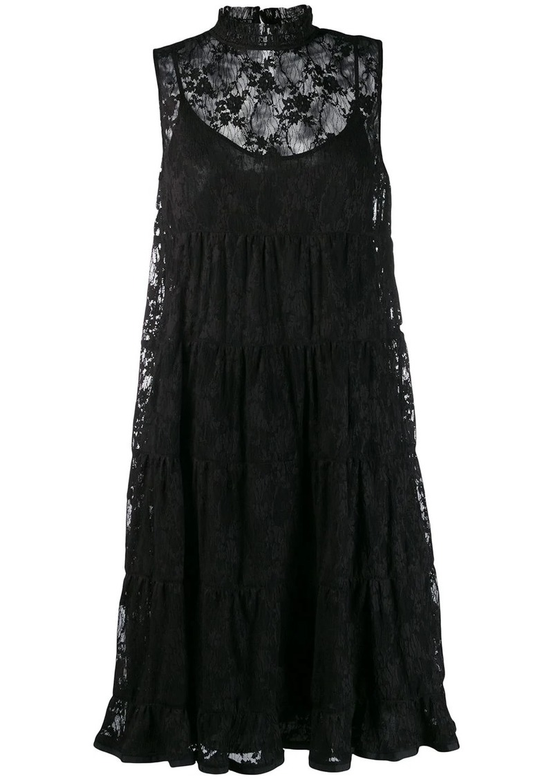 See by Chloé lace midi dress