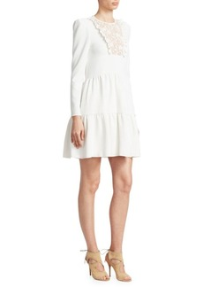 See by Chloé Lace Ruffle Dress