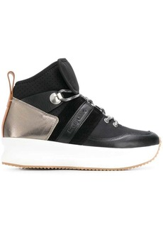 See by Chloé lace-up platform sneakers