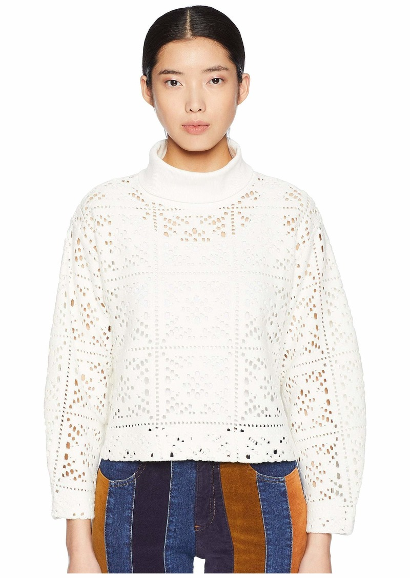 See by Chloé Lacey Jersey Turtleneck