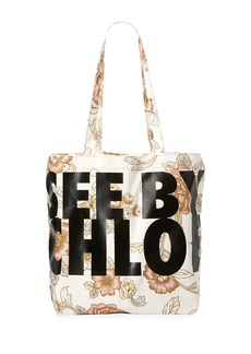 See by Chloé Live Printed Fabric Tote Bag