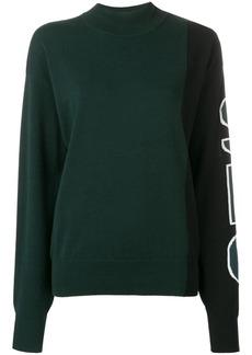 See by Chloé logo print jumper