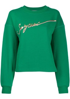 See by Chloé logo print sweatshirt