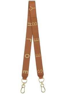See by Chloé logo studs bag strap