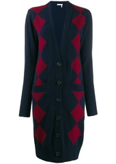 See by Chloé long patterned cardigan