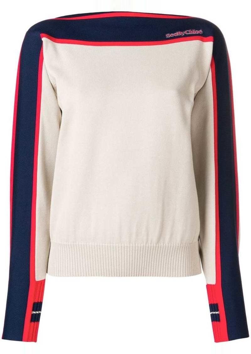 See by Chloé long sleeve jumper