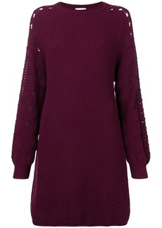 See by Chloé long-sleeve knitted dress