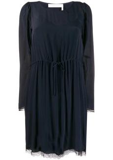 See by Chloé long-sleeve shift dress