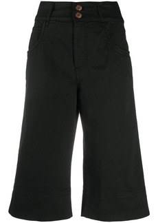 See by Chloé longline denim shorts