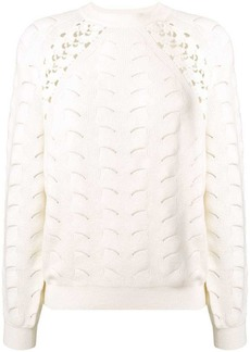 See by Chloé loose knit jumper