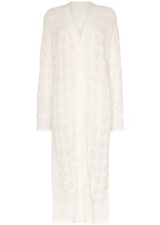 See by Chloé Loose Knit Long Cardigan
