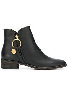 See by Chloé Louise flat ankle boots