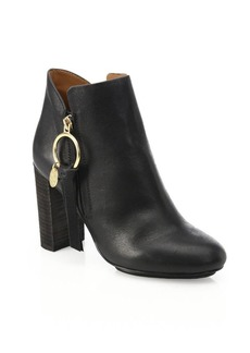 See by Chloé Louise Leather Booties