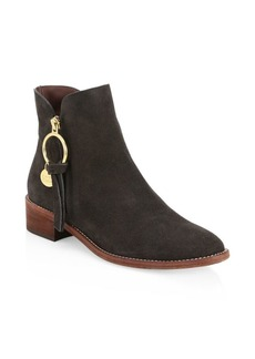 See by Chloé Louise Suede Ankle Boots