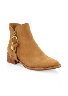 See by Chloé Louise Suede Flat Boots
