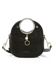 See by Chloé Mara Leather Ring-Handle Tote