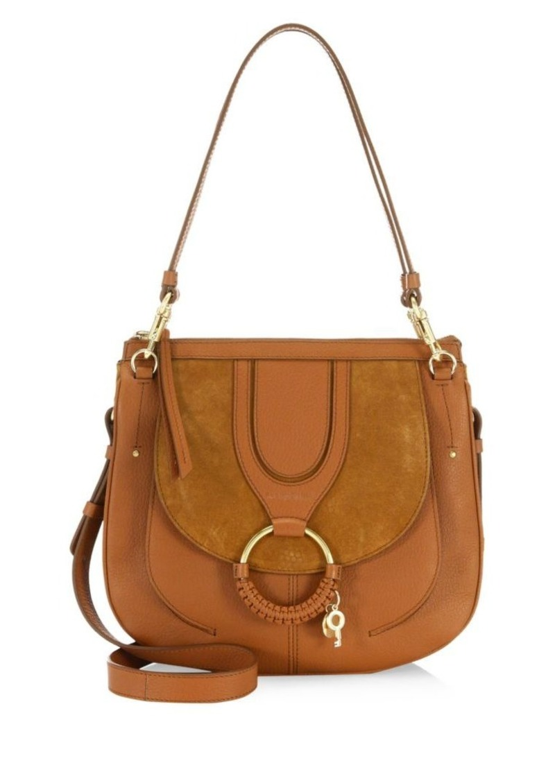 See by Chloé Medium Hana Leather Saddle Bag