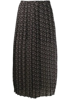 See by Chloé Micro Bisou print skirt