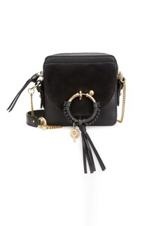 See by Chloé Micro Joan Suede & Leather Crossbody