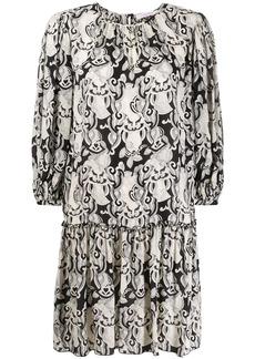 See by Chloé midi crepe floral print dress