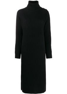 See by Chloé midi ribbed knit dress