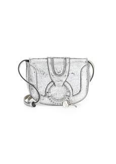See by Chloé Mini Hana Leather Saddle Bag