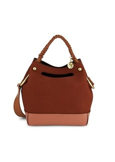 See by Chloé Mini Maddy Leather Hobo Bag
