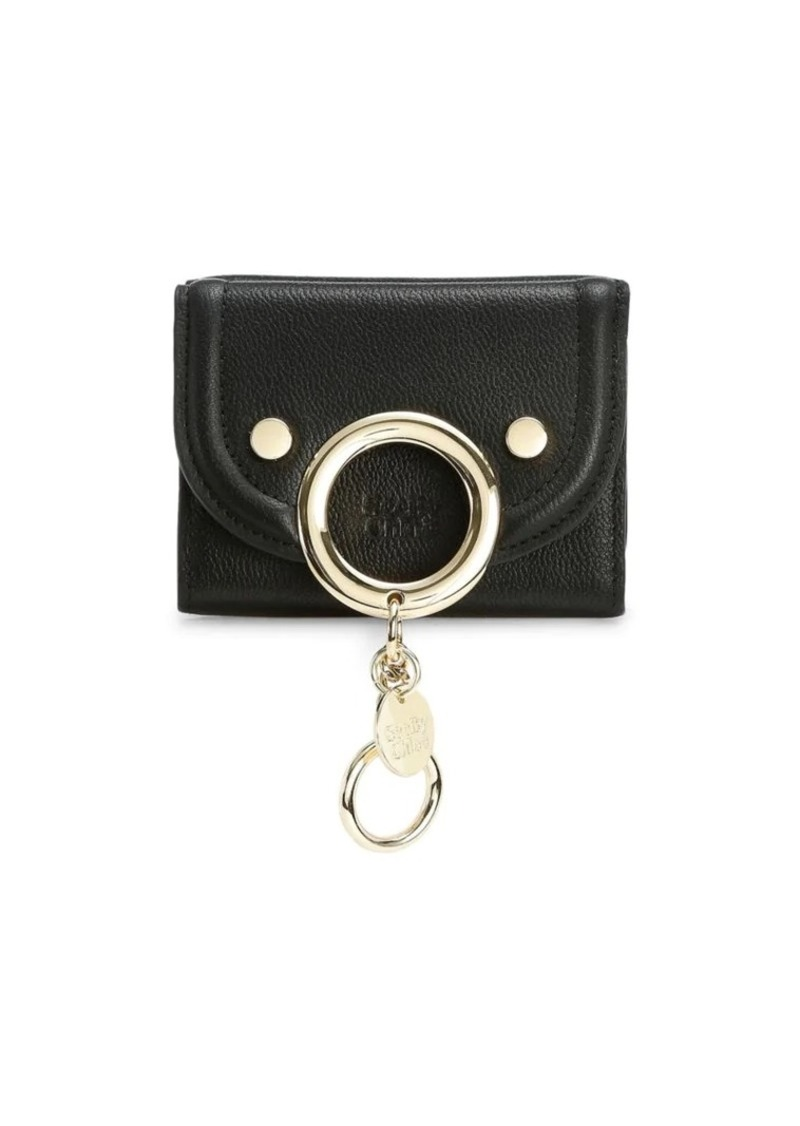 See by Chloé Mini Mara Leather Wallet