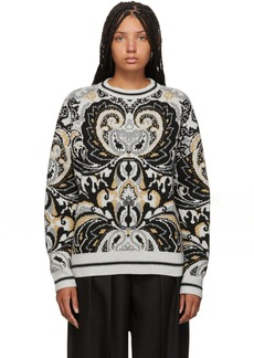 See by Chloé Multicolor Giant Paisley Jacquard Sweater