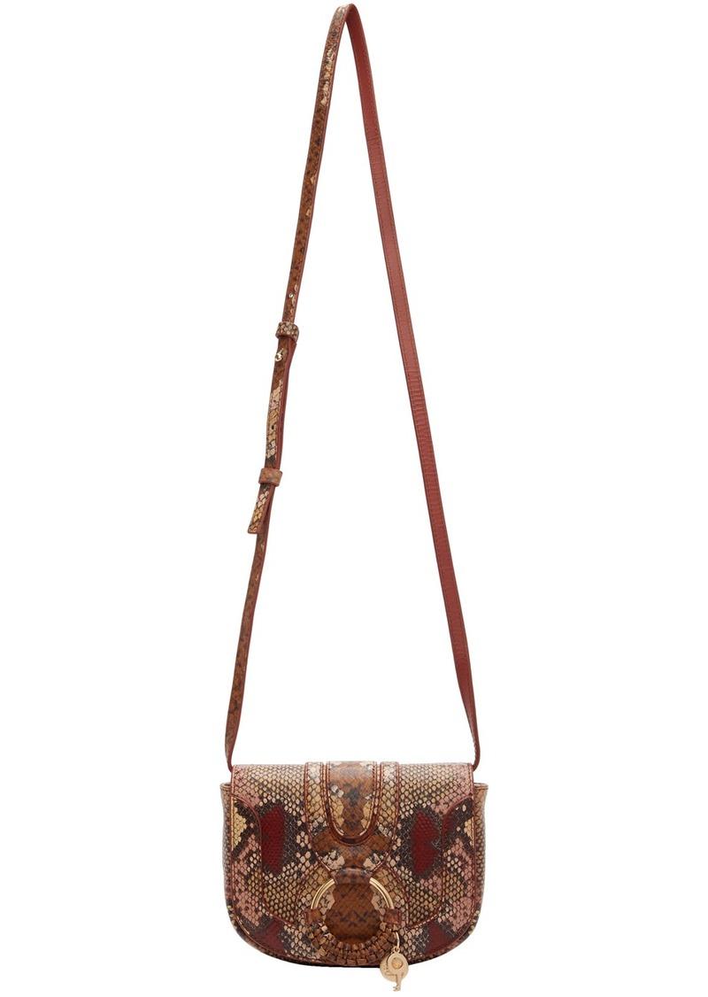 See by Chloé Multicolor Python Mini Hana Bag