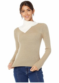 See by Chloé Neutral Color Block Sweater