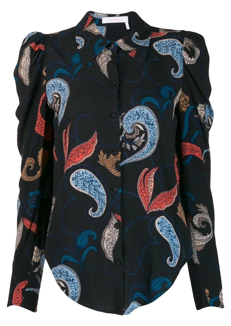 See by Chloé paisley print shirt
