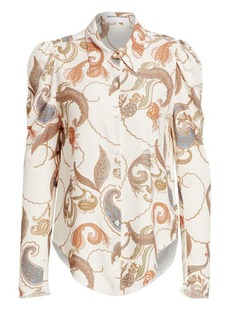 See by Chloé Paisley Silk Blouse