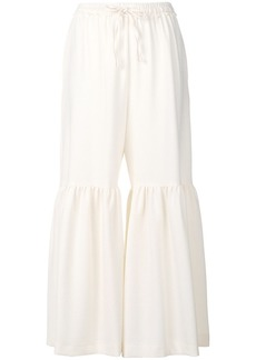See by Chloé pantalon flared trousers