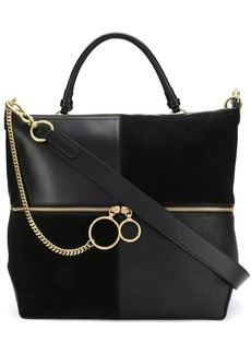 See by Chloé patchwork tote bag