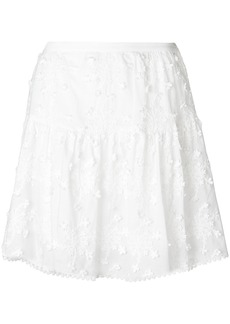 See by Chloé patterned full skirt