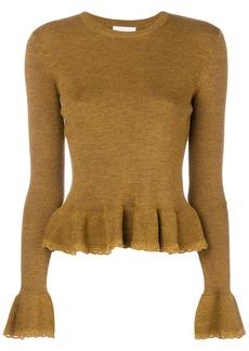 See by Chloé peplum knit jumper