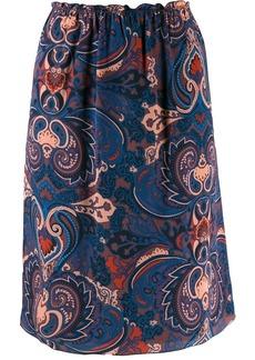 See by Chloé Persian print skirt