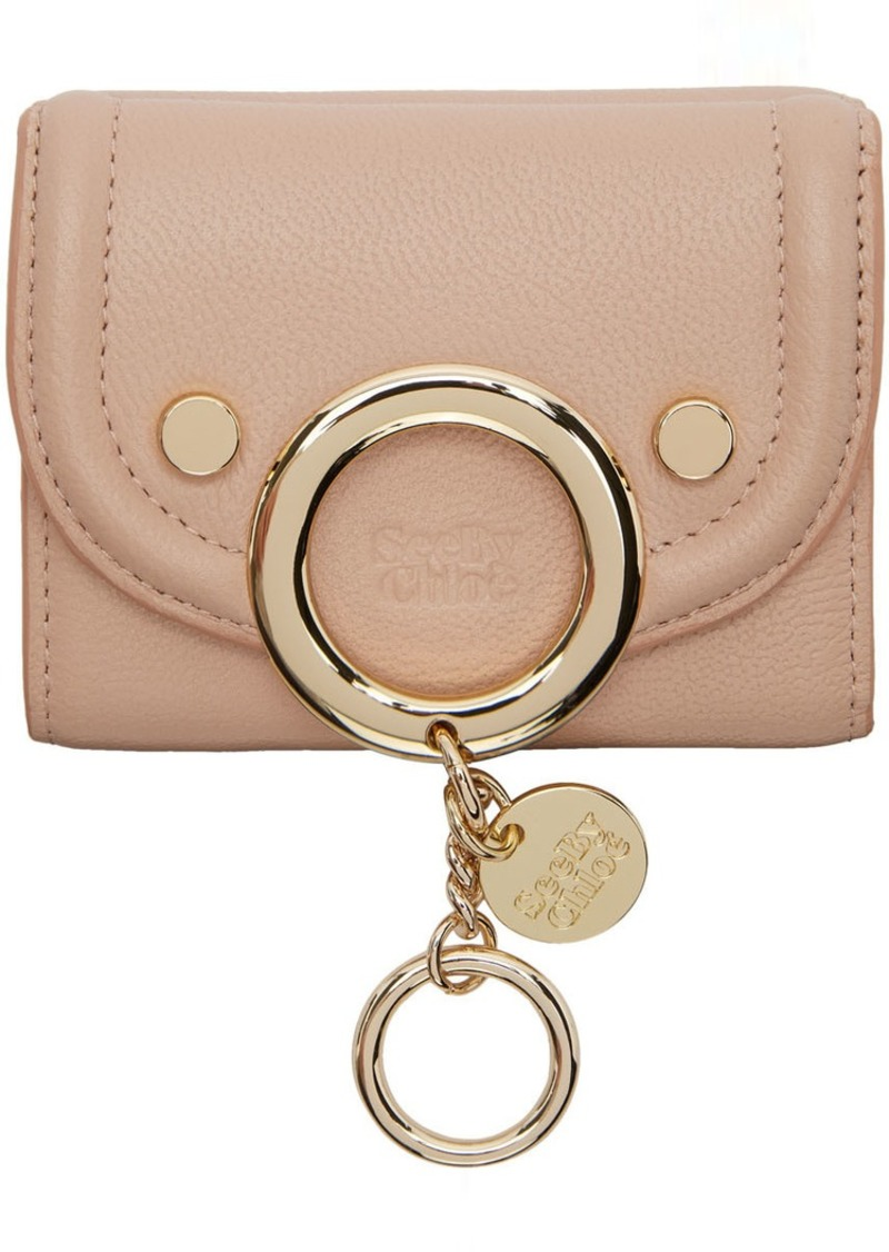 See by Chloé Pink Small Mara Wallet