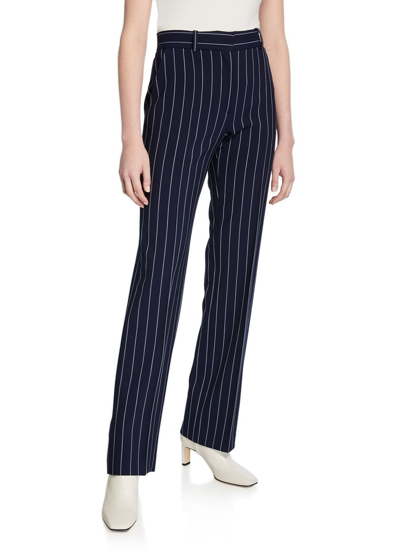 See by Chloé Pinstripe City Pants